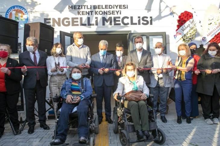 Mezitli Belediyesi Engelli Meclisi'ni Açtı