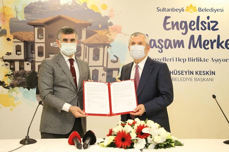 Sultanbeyli'de Engelsiz Yaşam Merkezi Kurulacak