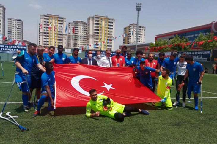 Ampute Futbol Şampiyonlar Ligi Gaziantep'te Başladı