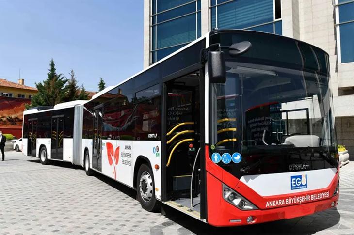 Başkentliler Erişilebilir Yeni Otobüslerine Kavuşuyor