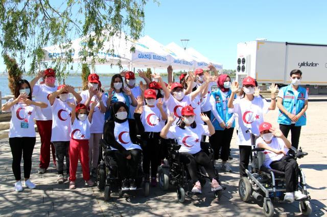 Başkent'te Engelli Öğrencilerden 19 Mayıs Yarışı