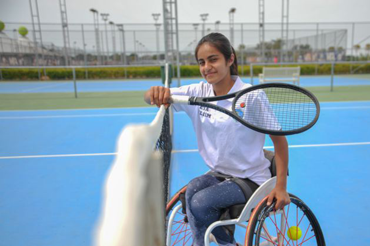 Tenis Turnuvalarının Yıldızı Zeliha Aksak