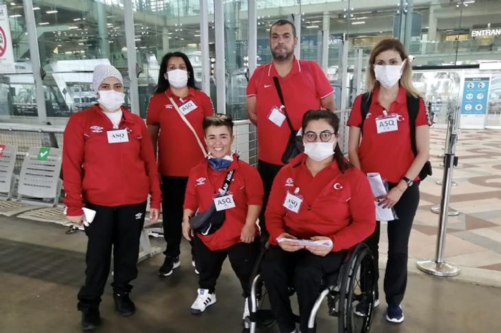Para Halter Milli Takımımız Dünya Kupası'na Hazır