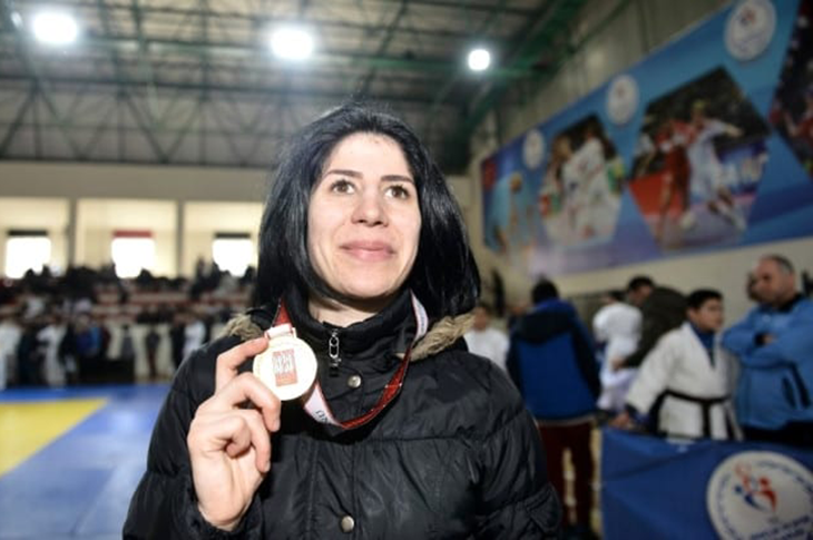 Milli Judocu Ecem Taşın'dan Altın Zafer