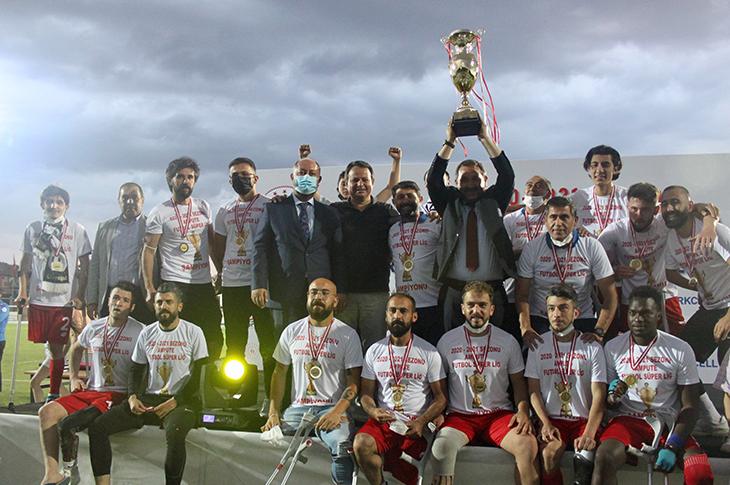 Ampute Futbol Süper Ligi Şampiyonu Etimesgut Belediyesi