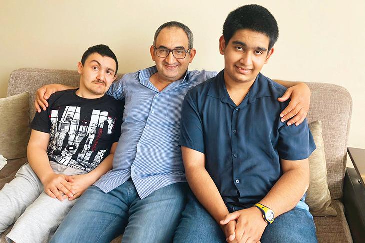 Engelli Çocuklarının Kahraman Babaları