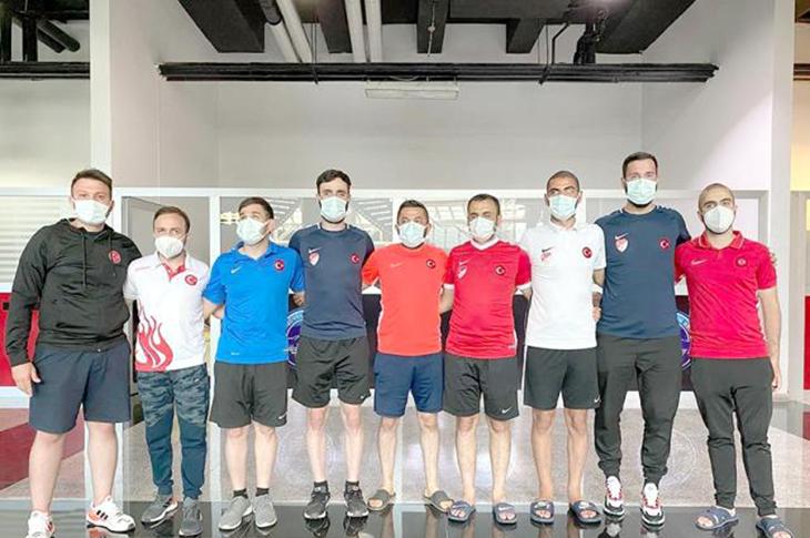 Görme Engelliler Futbol Milli Takımı Kayseri Kampında