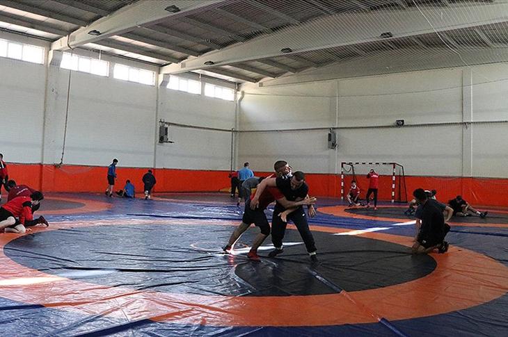 İşitme Engelliler Güreş Milli Takımı Şampiyonluk Hedefliyor