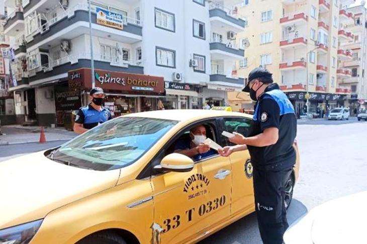 Mersin'de Sürücüler Engelli Konusunda Bilgilendirildi