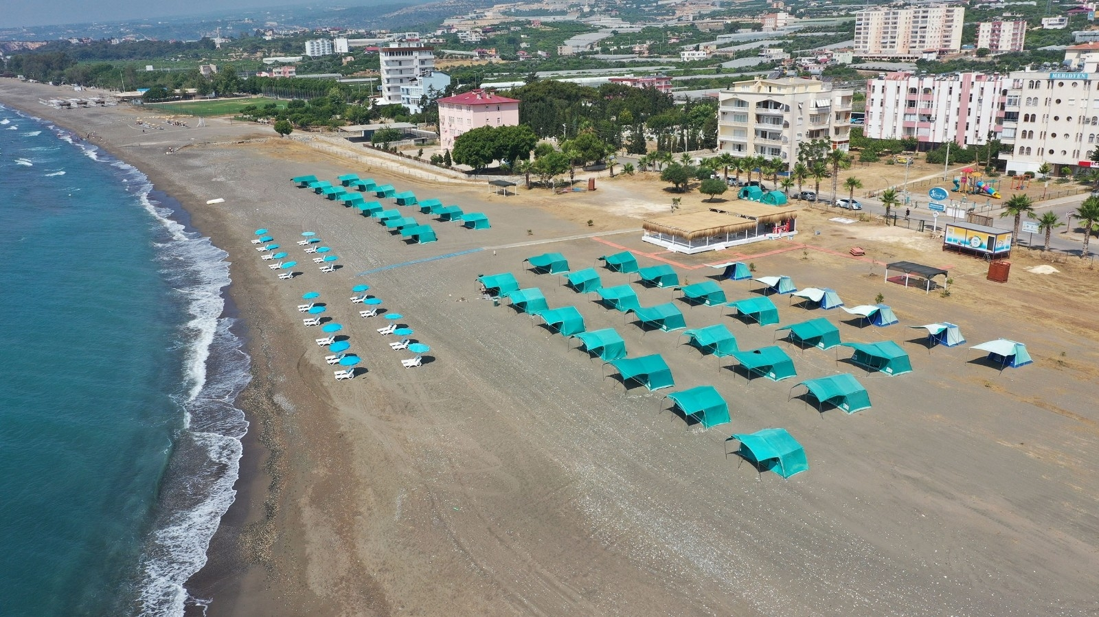 Erişilebilir Mersin Plajları Yaza Hazır