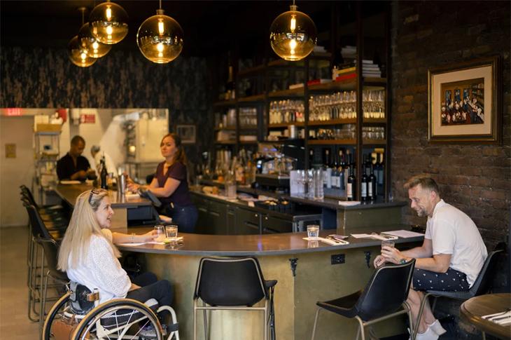 Engelliler Tarafından Erişilebilir Restoran New York'ta Açıldı