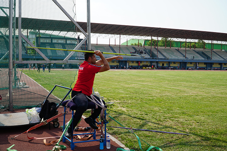 Cirit Atma Finalinde Muhammet Khalvandi Şampiyon