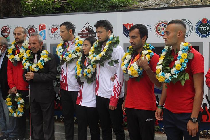 Avrupa Şampiyonu Milli Atletler DHA'ya Konuştu