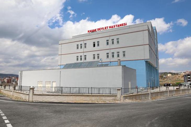 Samsun'da 2 İlçe Devlet Hastanesi Hizmete Açılacak