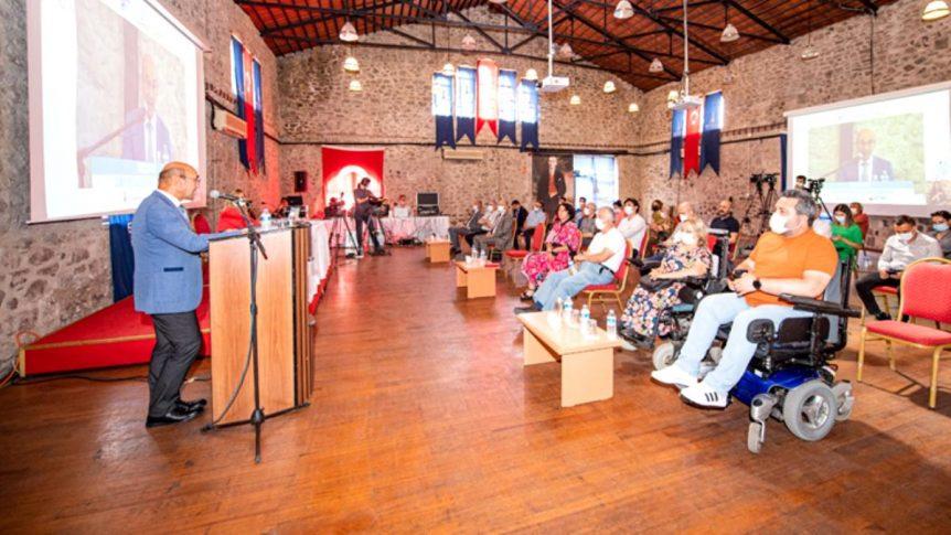 BaşkanTunç SoyerDoğal Afetlerde Engelli Çalışmalarını Anlattı