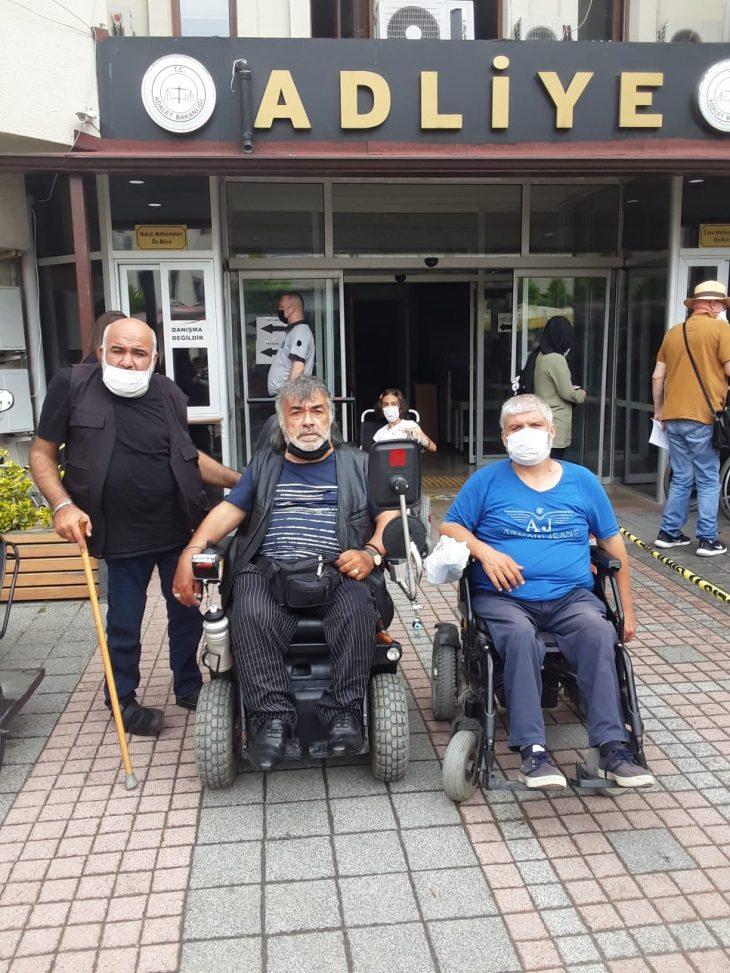 Beykoz'da Engellilere Saldıran Sanık Tutuklandı