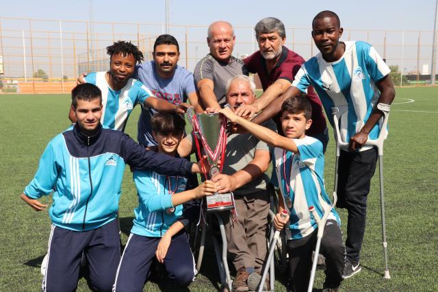 Eyyübiye Belediyespor'da Süper Lig Sevinci Yaşanıyor
