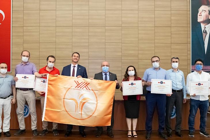 Kayseri Üniversitesi'ne Erişilebilir 'Turuncu Bayrak' Ödülü