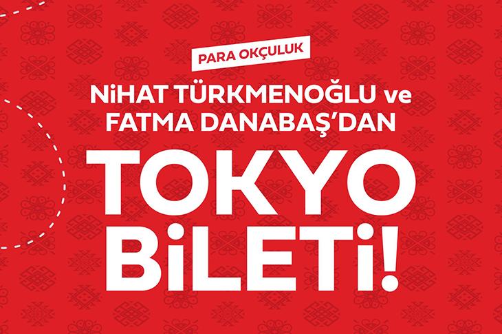 Nihat Türkmenoğlu ve Fatma Danabaş Tokyo Yolcusu