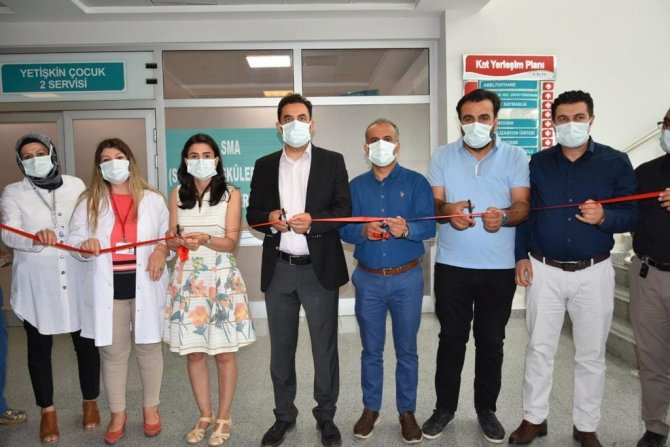 Van Eğitim Araştırma Hastanesinde SMA Merkezi Hizmete Başladı