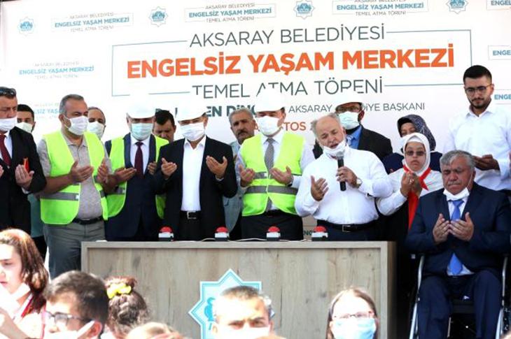 Aksaray'da Engelsiz Yaşam Merkezinin Temeli Atıldı