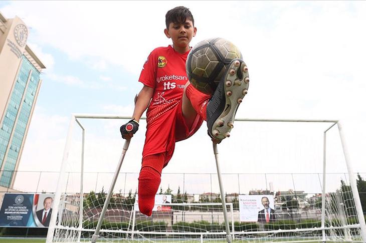 Ampute Futbolun Yükselen Yıldızı Tuncay Efe