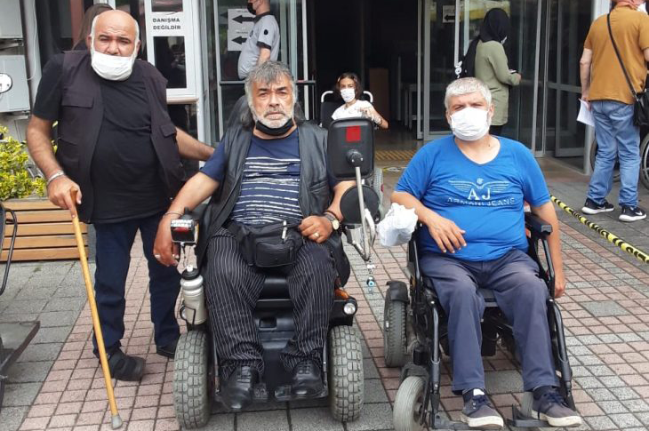 Beykoz'da Engellileri Darp Eden 2 Sanığın Yargılanmasına Başlandı