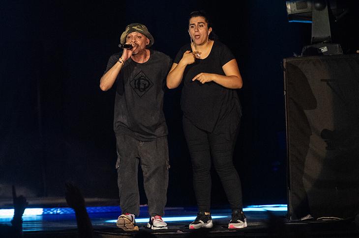 İlk Kez Bir Rap Konserinde İşaret Diliyle Çeviri Yapıldı