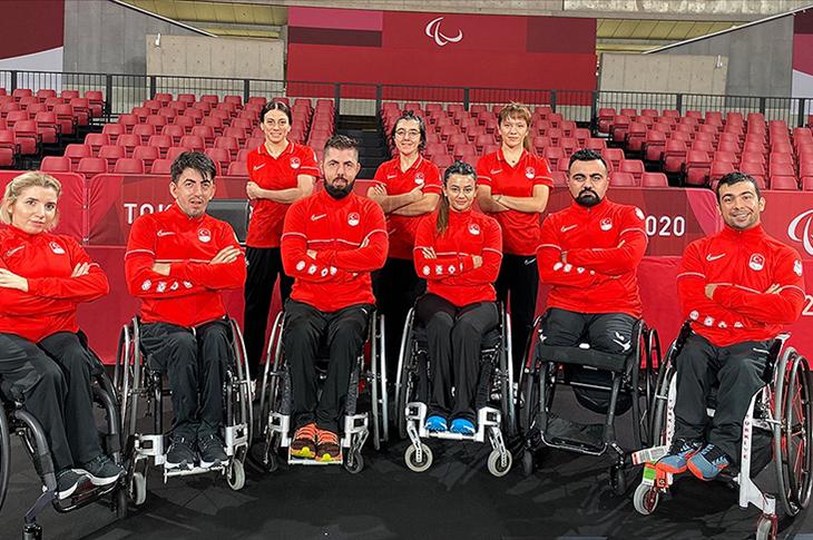 Paralimpik Masa Tenisçiler Tokyo'da Türkiye'yi Sevindirmek İstiyor