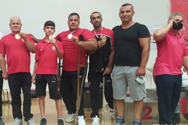 Şanlıurfa Büyükşehir Sporcuları Halter Şampiyonası'na Damga Vurdu