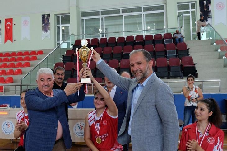 TS Basketbol Kadınlar Türkiye Şampiyonası İskenderun'da Yapıldı