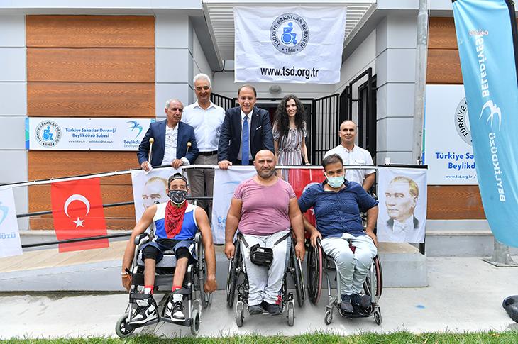 Türkiye Sakatlar Derneği Beylikdüzü Şubesi Açıldı