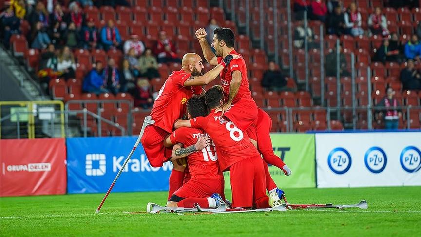 Ampute Futbol Milli Takımı İkinci Kez Avrupa Şampiyonu
