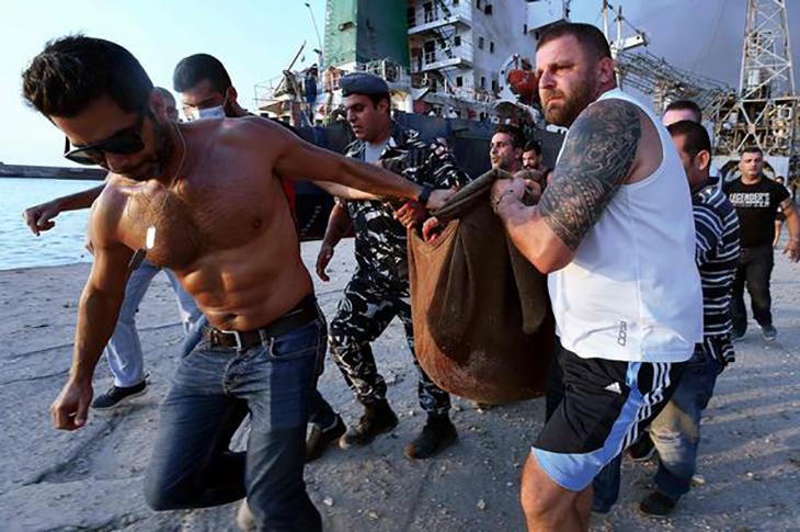 1000'den Fazla Kişinin Engelli Hale Geldiği Beyrut Patlamasında Yargı Yeniden Harekete Geçti