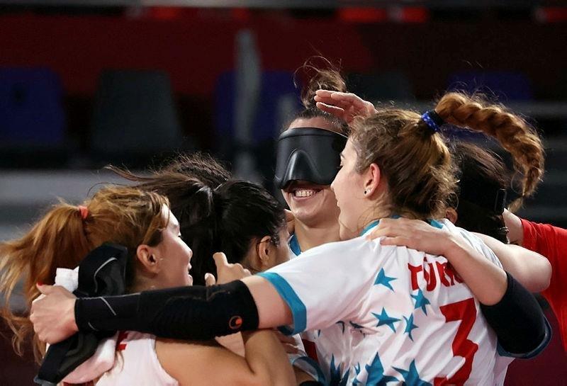 Golbol Kadın Milli Takımı Finale Yükseldi