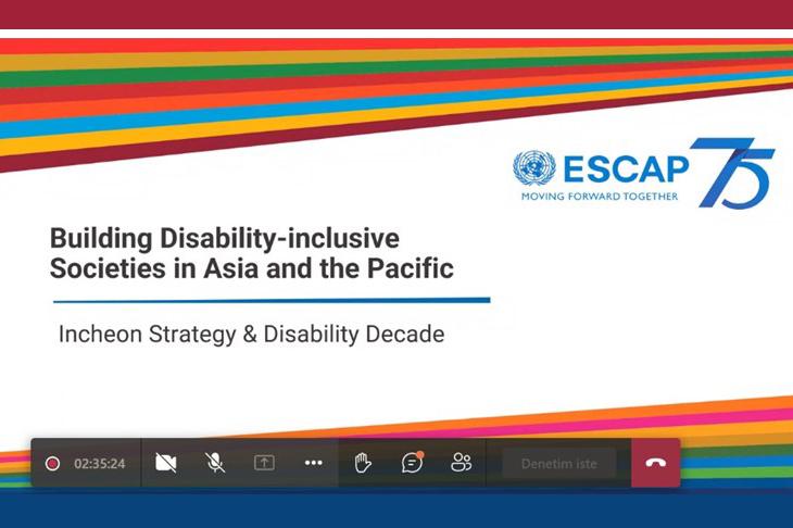 Asya ve Pasifik Engelliler İstişare Toplantısı Gerçekleşti