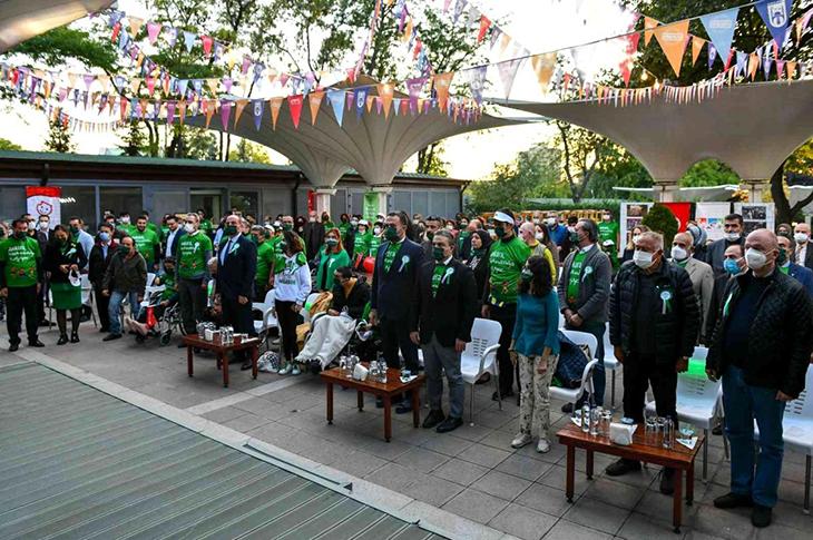 6 Ekim Dünya CP Günü'nde Ankara Farkındalığa Koştu